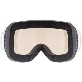 UVEX Downhill 2000 V Masque, white/variomatic silver